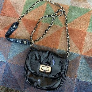 Sweet patent leather crossbody by Steve Madden